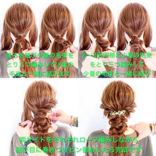 謝恩会 ヘアアレンジ 結婚式 三つ編み ヘアスタイルや髪型の写真・画像 ヘアスタイルや髪型の写真・画像