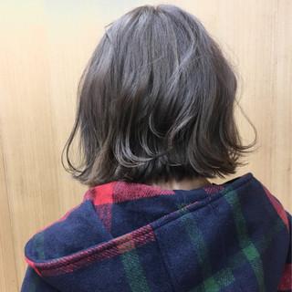 ガーリー ダブルカラー モーブ ボブ ヘアスタイルや髪型の写真・画像 ヘアスタイルや髪型の写真・画像