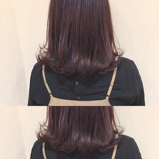 冬 グレージュ コンサバ ハイライト ヘアスタイルや髪型の写真・画像