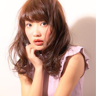 大人女子 パーマ フェミニン おフェロ ヘアスタイルや髪型の写真・画像