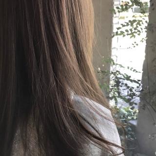 ナチュラル アッシュ 春 外国人風カラー ヘアスタイルや髪型の写真・画像