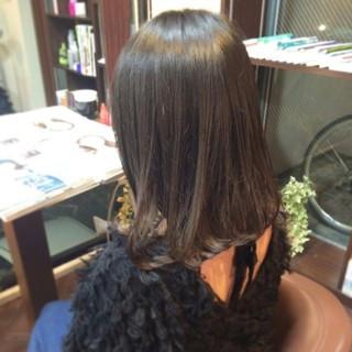 ボブ パーマ ゆるふわ ガーリー ヘアスタイルや髪型の写真・画像