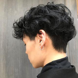 ストリート メンズマッシュ メンズパーマ メンズスタイル ヘアスタイルや髪型の写真・画像