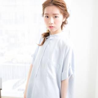 簡単にできる前髪編み込みのやり方!伸ばしかけのヘアアレンジに最適♡