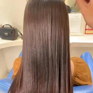 髪質改善 縮毛矯正 ナチュラル 髪質改善トリートメント ヘアスタイルや髪型の写真・画像