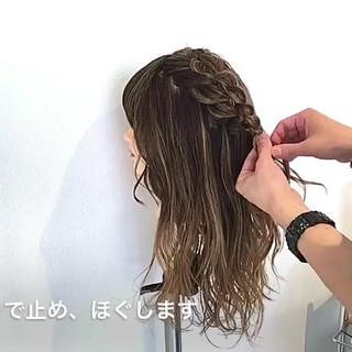 ショート アウトドア セミロング ナチュラル ヘアスタイルや髪型の写真・画像