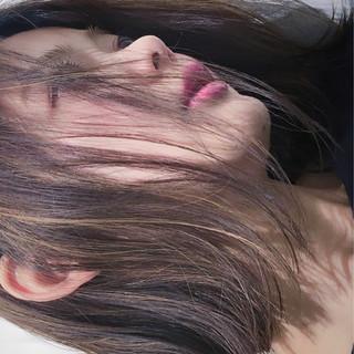 ボブ ハイライト ナチュラル ピュア ヘアスタイルや髪型の写真・画像