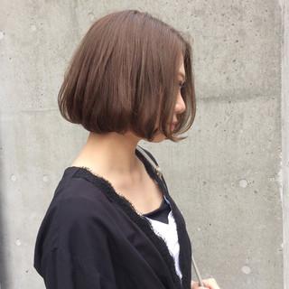 デート ナチュラル ハイライト アッシュ ヘアスタイルや髪型の写真・画像