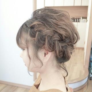 お祭り 夏 ヘアアレンジ 花火大会 ヘアスタイルや髪型の写真・画像