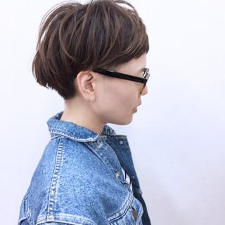 刈り上げ 坊主 ショート 冬 ヘアスタイルや髪型の写真・画像 ヘアスタイルや髪型の写真・画像