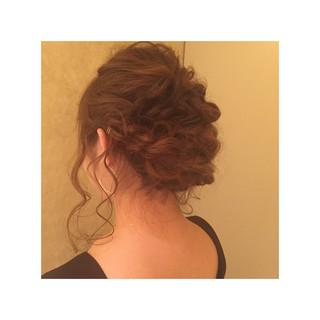 大人かわいい ヘアアレンジ ゆるふわ セミロング ヘアスタイルや髪型の写真・画像