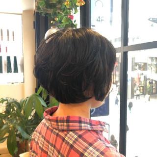 アンニュイほつれヘア ゆるふわ ボブ スポーツ ヘアスタイルや髪型の写真・画像