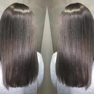 外国人風カラー ロング アウトドア グラデーションカラー ヘアスタイルや髪型の写真・画像