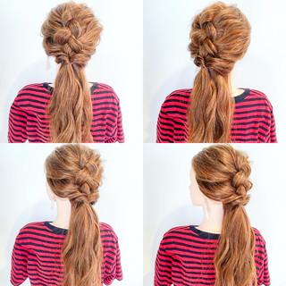エレガント ロング アウトドア 上品 ヘアスタイルや髪型の写真・画像