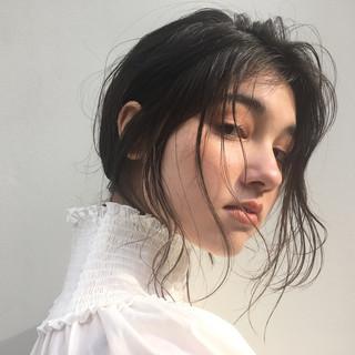 バレンタイン ヘアアレンジ アンニュイ オフィス ヘアスタイルや髪型の写真・画像