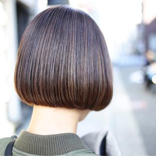 簡単ヘアアレンジ オフィス ボブ デート ヘアスタイルや髪型の写真・画像