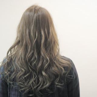 オリージュ ロング ガーリー ニュアンス ヘアスタイルや髪型の写真・画像