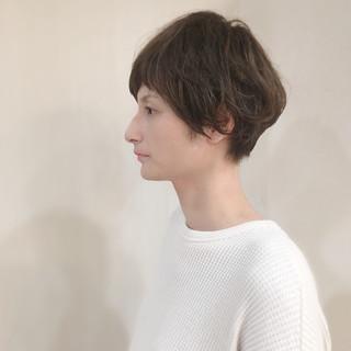 ナチュラル マッシュヘア デート マッシュ ヘアスタイルや髪型の写真・画像 ヘアスタイルや髪型の写真・画像