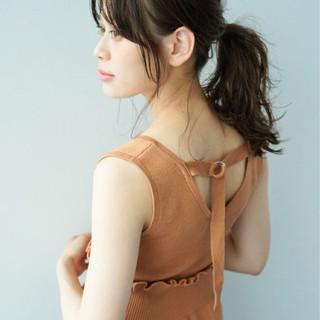 ヘアアレンジ デート 簡単ヘアアレンジ ショート ヘアスタイルや髪型の写真・画像