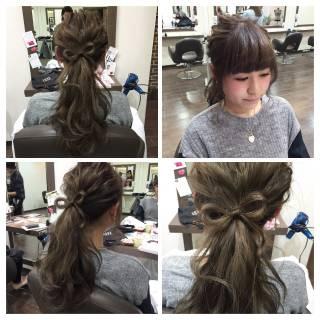 ルーズ 結婚式 ショート 大人かわいい ヘアスタイルや髪型の写真・画像