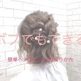 ナチュラル ミニボブ ショートヘア ボブ ヘアスタイルや髪型の写真・画像
