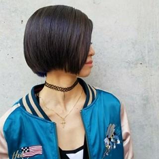 ストリート 暗髪 インナーカラー グレージュ ヘアスタイルや髪型の写真・画像 ヘアスタイルや髪型の写真・画像