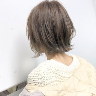 アンニュイほつれヘア デート ボブ ナチュラル ヘアスタイルや髪型の写真・画像 ヘアスタイルや髪型の写真・画像