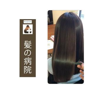 頭皮ケア 髪の病院 名古屋市守山区 ナチュラル ヘアスタイルや髪型の写真・画像