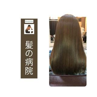 頭皮ケア ロング トリートメント 名古屋市守山区 ヘアスタイルや髪型の写真・画像