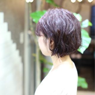 ショートボブ 大人女子 ボブ ショート ヘアスタイルや髪型の写真・画像