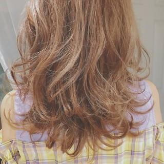 大人かわいい ロング ナチュラル 透明感 ヘアスタイルや髪型の写真・画像