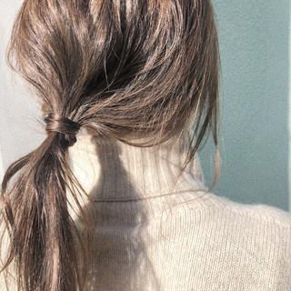 ナチュラルなのが可愛い♡アンニュイな簡単ストレートヘアアレンジ