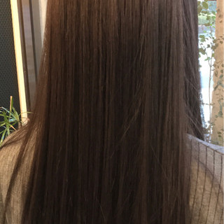 ロング 外国人風カラー ナチュラル アッシュ ヘアスタイルや髪型の写真・画像