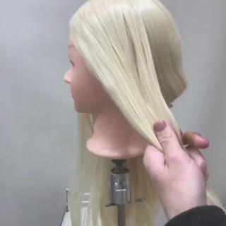 編み込み ナチュラル 結婚式 簡単ヘアアレンジ ヘアスタイルや髪型の写真・画像