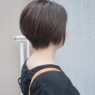 前下がり 大人ヘアスタイル ショート 美シルエット ヘアスタイルや髪型の写真・画像