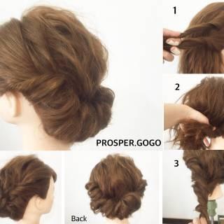 ショート 結婚式 時短 ナチュラル ヘアスタイルや髪型の写真・画像 ヘアスタイルや髪型の写真・画像