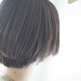 グレージュ シルバーアッシュ ラベンダー ボブ ヘアスタイルや髪型の写真・画像 ヘアスタイルや髪型の写真・画像