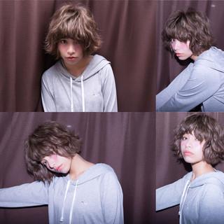 色気 ストリート 冬 パーマ ヘアスタイルや髪型の写真・画像