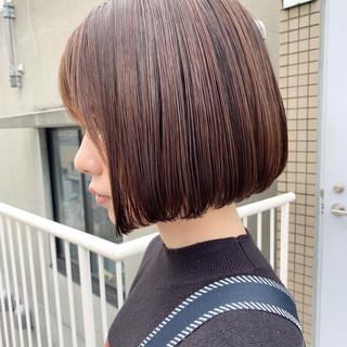 ボブ 女子力 大人女子 透明感 ヘアスタイルや髪型の写真・画像 ヘアスタイルや髪型の写真・画像