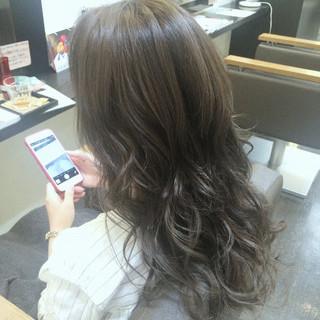 黒髪 アッシュ 暗髪 渋谷系 ヘアスタイルや髪型の写真・画像