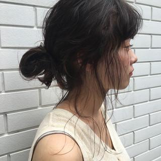 ナチュラル 夏 リラックス 涼しげ ヘアスタイルや髪型の写真・画像