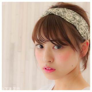 ハーフアップ ヘアアレンジ ショート 簡単ヘアアレンジ ヘアスタイルや髪型の写真・画像 ヘアスタイルや髪型の写真・画像