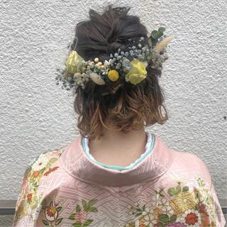 ヘアアレンジ 卒業式 簡単ヘアアレンジ 結婚式 ヘアスタイルや髪型の写真・画像