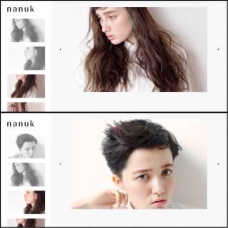 抜け感 束感 ヘアスタイルや髪型の写真・画像