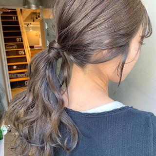 ナチュラル デート ロング 簡単ヘアアレンジ ヘアスタイルや髪型の写真・画像 ヘアスタイルや髪型の写真・画像