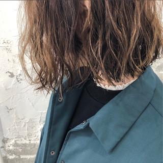 ゆるふわ 外国人風 ウェーブ パーマ ヘアスタイルや髪型の写真・画像