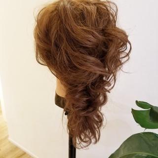 結婚式ヘアアレンジ ヘアアレンジ エレガント 簡単ヘアアレンジ ヘアスタイルや髪型の写真・画像