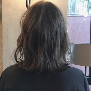オフィス 結婚式 ボブ アンニュイ ヘアスタイルや髪型の写真・画像