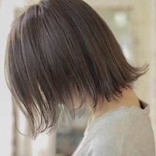 外ハネボブ 外ハネ ガーリー ボブ ヘアスタイルや髪型の写真・画像