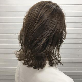 外国人風 ストリート 切りっぱなし グラデーションカラー ヘアスタイルや髪型の写真・画像